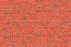 Rotbrauner vereinbarter Beschaffenheitshintergrund der Blockbacksteinmauer schön Stockfotos