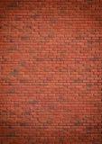 Rotbrauner vereinbarter Beschaffenheitshintergrund der Blockbacksteinmauer schön Stockfotografie