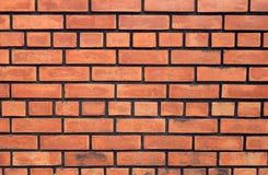 Rotbraunes vereinbartes backgrou Beschaffenheit der Blockbacksteinmauer schön Lizenzfreie Stockbilder