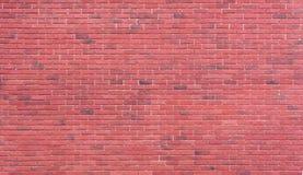 Rotbraunes vereinbartes backgrou Beschaffenheit der Blockbacksteinmauer schön Lizenzfreies Stockfoto