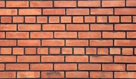 Rotbraunes vereinbartes backgrou Beschaffenheit der Blockbacksteinmauer schön Lizenzfreie Stockfotografie