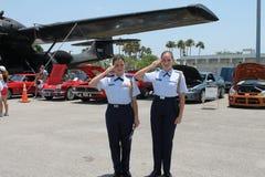 ROTC przy dnia pamięci wydarzeniem obrazy royalty free