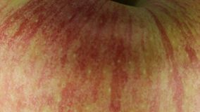 Rote Äpfel stock video footage