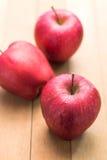 Rote Äpfel Stockbild