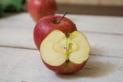 Rote Äpfel Stockfotografie