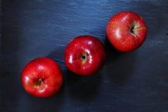 Rote Äpfel Stockfoto