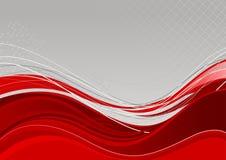 Rote abstrakte Hintergrundschablone lizenzfreie abbildung