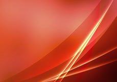 Rote Abstraktion Stockfotografie