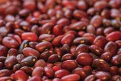 Rote adzuki Bohnen Lizenzfreies Stockfoto
