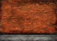 Rote alte Backsteinmauer Lizenzfreie Stockfotos