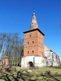 Rote alte Kirche, Litauen Lizenzfreie Stockfotos