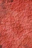 Rote alte schöne Beschaffenheiten mit Sprüngen Lizenzfreie Stockfotografie