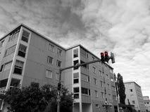 Rote Ampeln Stockfotografie