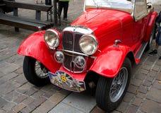 Rote antike Aero 30 Stockfoto