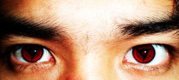 Rote Augen Lizenzfreie Stockfotografie