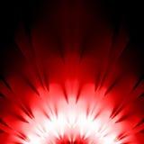 Rote Auslegung Stockbild