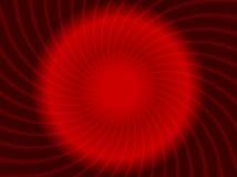 Rote Auslegung des abstrakten Strudels. Stockbild