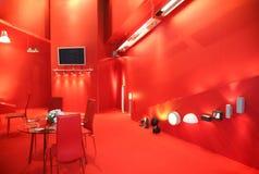 Rote Ausstellung Lizenzfreie Stockfotos