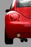 Rote Autorückseite Lizenzfreies Stockbild