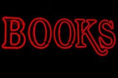 Rote Bücher stockbilder