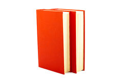 Rote Bücher Stockfotografie