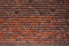 Rote Backsteinmauer. Lizenzfreies Stockbild