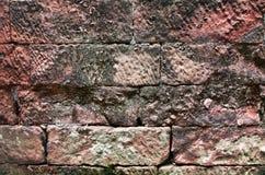Rote Backsteinmauer Lizenzfreies Stockbild