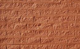 Rote Backsteinmauer als Hintergrund Lizenzfreie Stockfotos