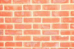 Rote Backsteinmauer-Szene Stockfotografie