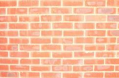Rote Backsteinmauer-Szene Stockbild