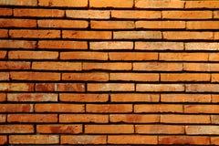 Rote Backsteinmauerbeschaffenheit Lizenzfreies Stockfoto
