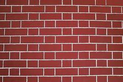 Rote Backsteinmauerbeschaffenheit Lizenzfreie Stockfotos