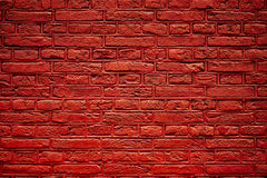 Rote Backsteinmauerbeschaffenheit Stockfoto