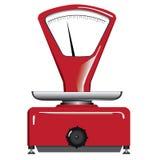 Rote Balance Stockbild