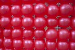Rote Ballone Stockfoto