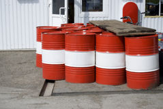 Rote Behälter Stockbilder