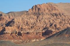 Rote Berge Stockfotografie