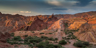 Rote Berge Lizenzfreie Stockfotos