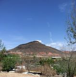 Rote Berge von St. George Utah Lizenzfreies Stockfoto