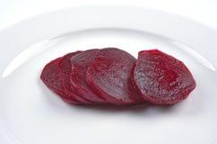 Rote-Bete-Wurzeln lizenzfreies stockfoto