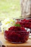 Rote-Bete-Wurzeln für Diät Stockbilder
