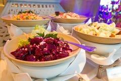 Rote-Bete-Wurzeln Salat Stockbilder