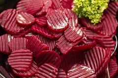 Rote-Bete-Wurzeln Salat Lizenzfreies Stockfoto