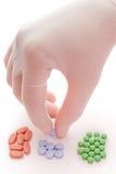 Rote, blaue oder grüne Pille? Lizenzfreie Stockbilder