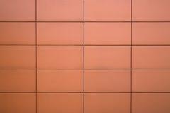 Rote Blockwand des Gebäudes Lizenzfreie Stockfotografie