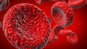 Rote Blutzelle stockbild