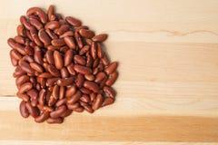 Rote Bohne (Phaseolus vulgaris) Lizenzfreie Stockfotos