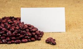 Rote Bohnen Stockbild