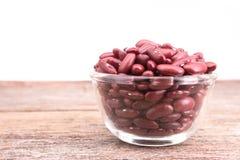 Rote Bohnen Stockfoto