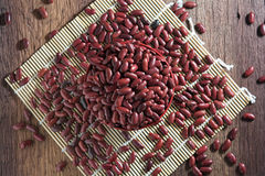 Rote Bohnen in einem Cup Stockbilder